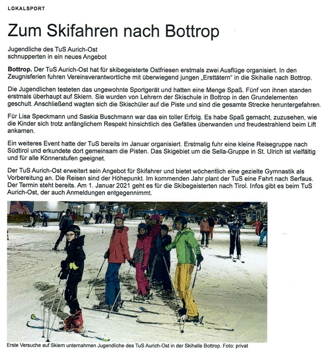 ON Skiabteilung 2020